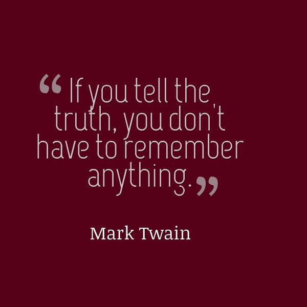 lie quote