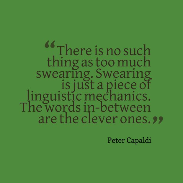 swearing quote