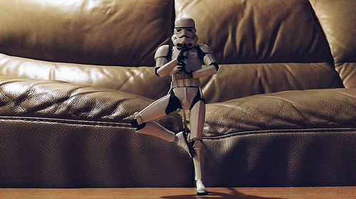 photo credit: Bring balance to the force, he is. via photopin (license)