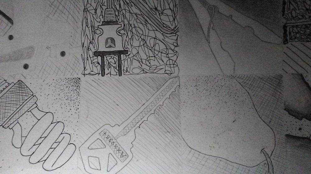 challenge black and white