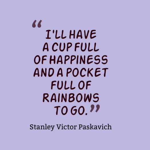 cup of happiness quote