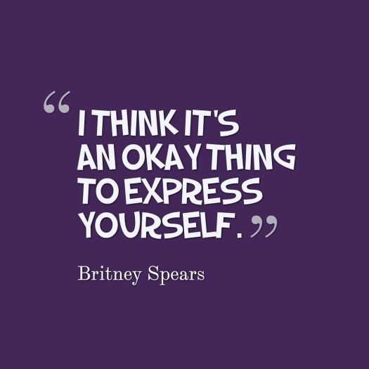 express yourself quote