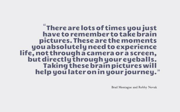 brain photo quote