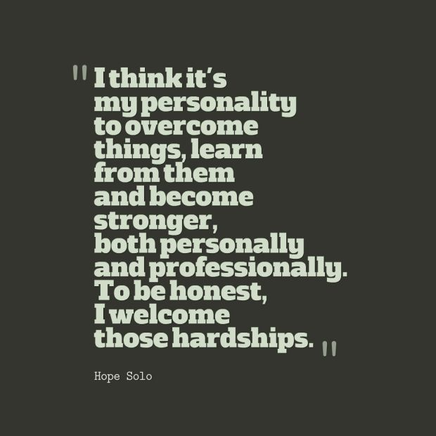 hope solo quote