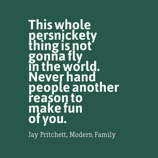 persnickety quote