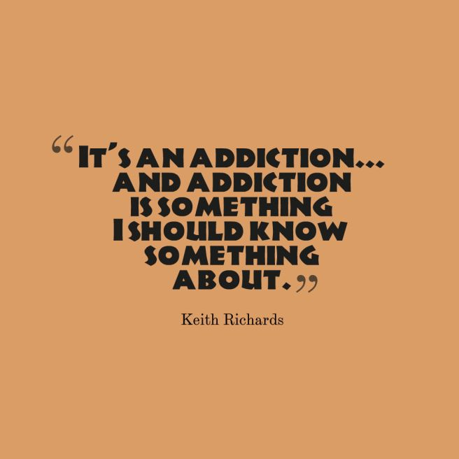 addiction quote