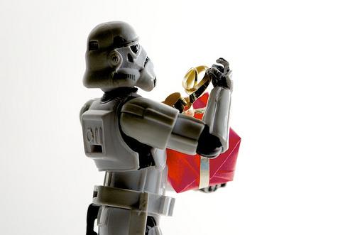 gift present stormtrooper