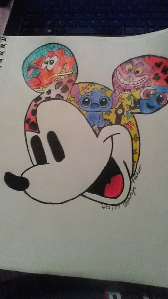 grace disney mickey mouse drawing art devices
