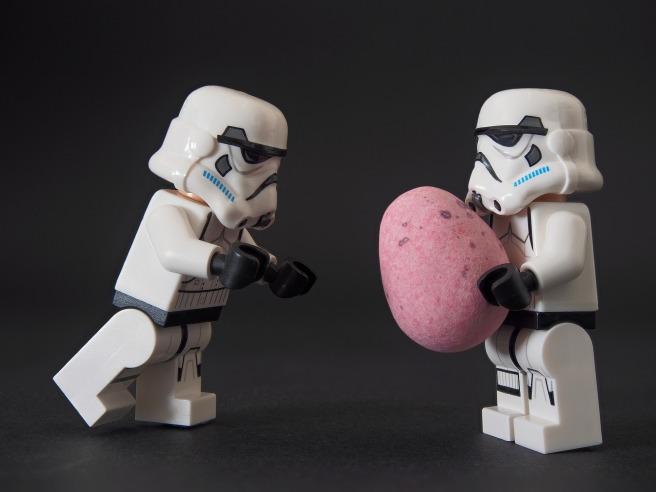 stormtrooper egg easter candy