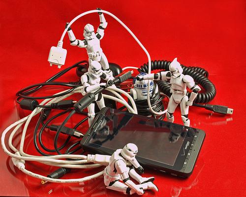 stormtrooper phone cords