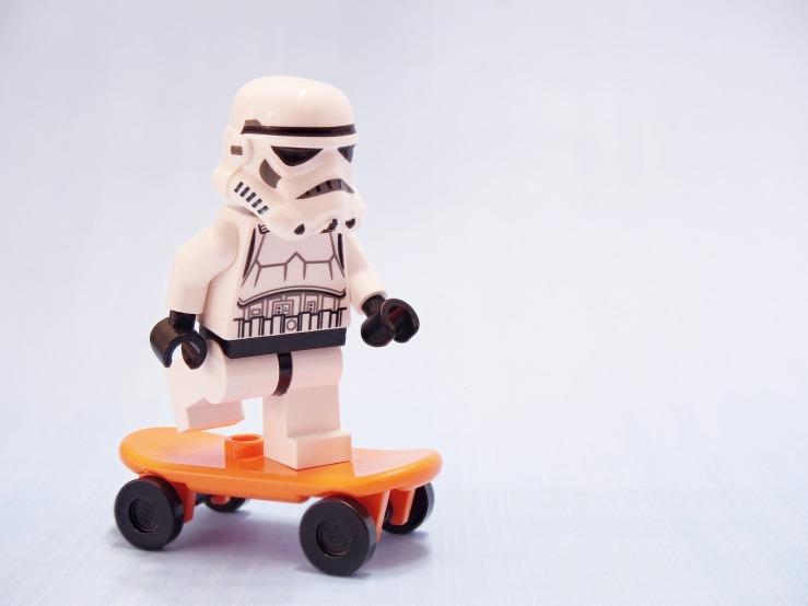 stormtrooper skateboard skater