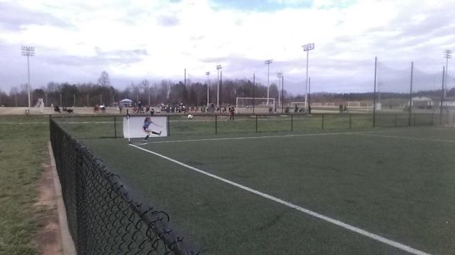camdyn soccer corner kick