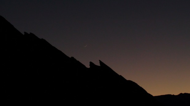 death valley stars night
