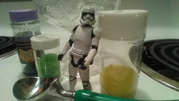 ice cream sprinkles scoop