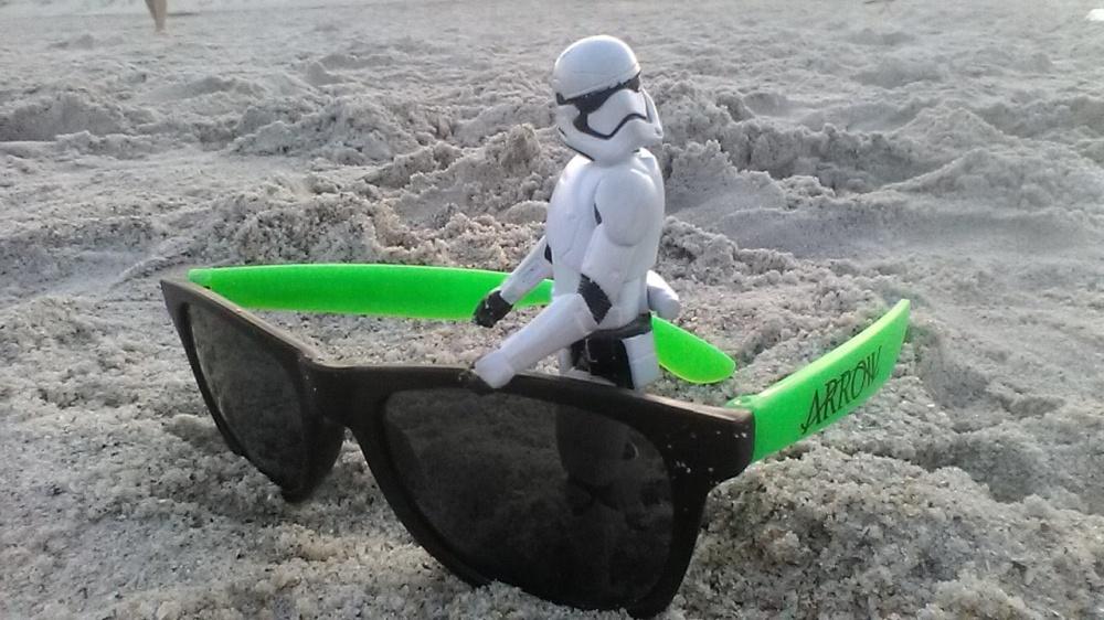 stormtrooper beach sunglasses sand