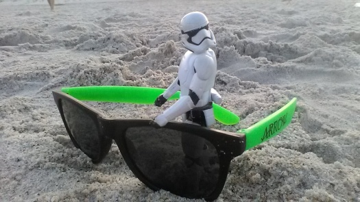 stormtrooper beach sunglasses sand