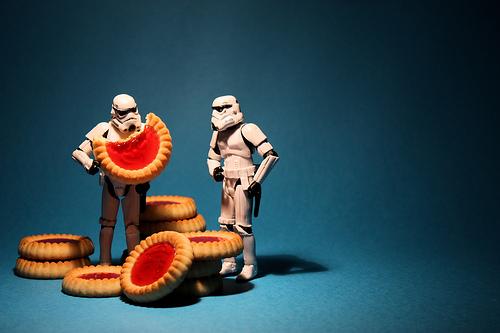 stormtrooper cookies dessert