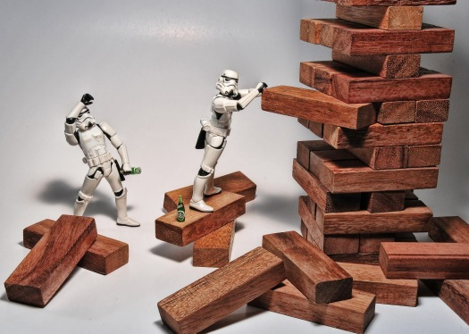 stormtrooper jenga courage