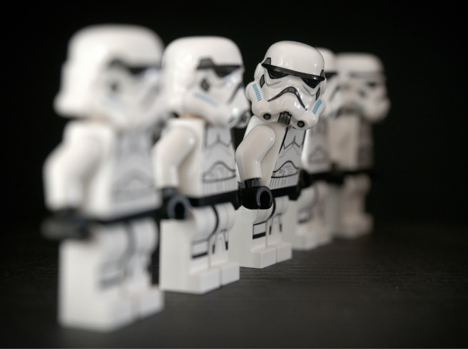 stormtrooper lineup army