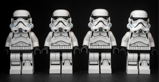 stormtrooper stormtroopers four