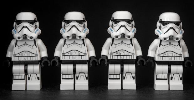 stormtrooper stormtroopers four