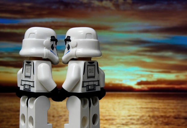 stormtroopers sunset romance