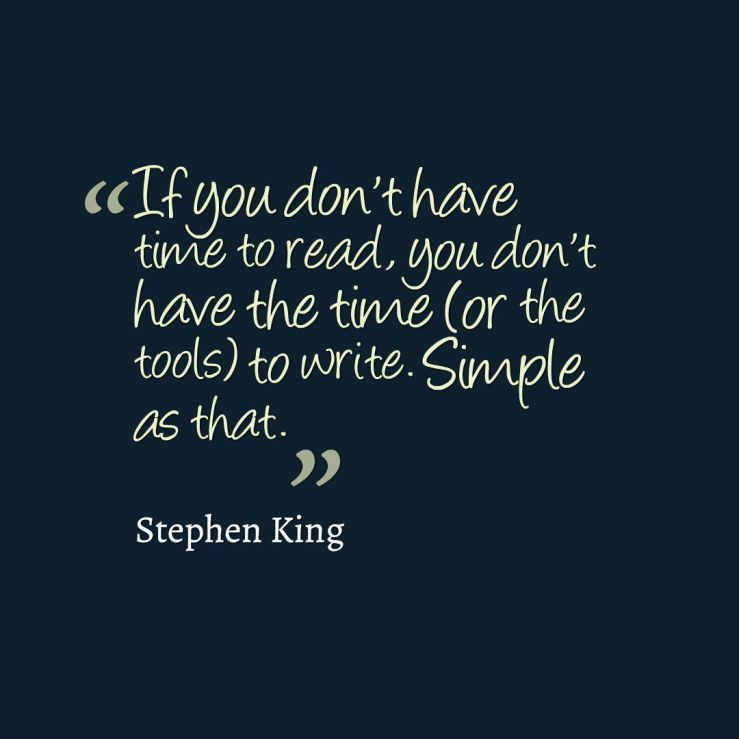 reading quote king