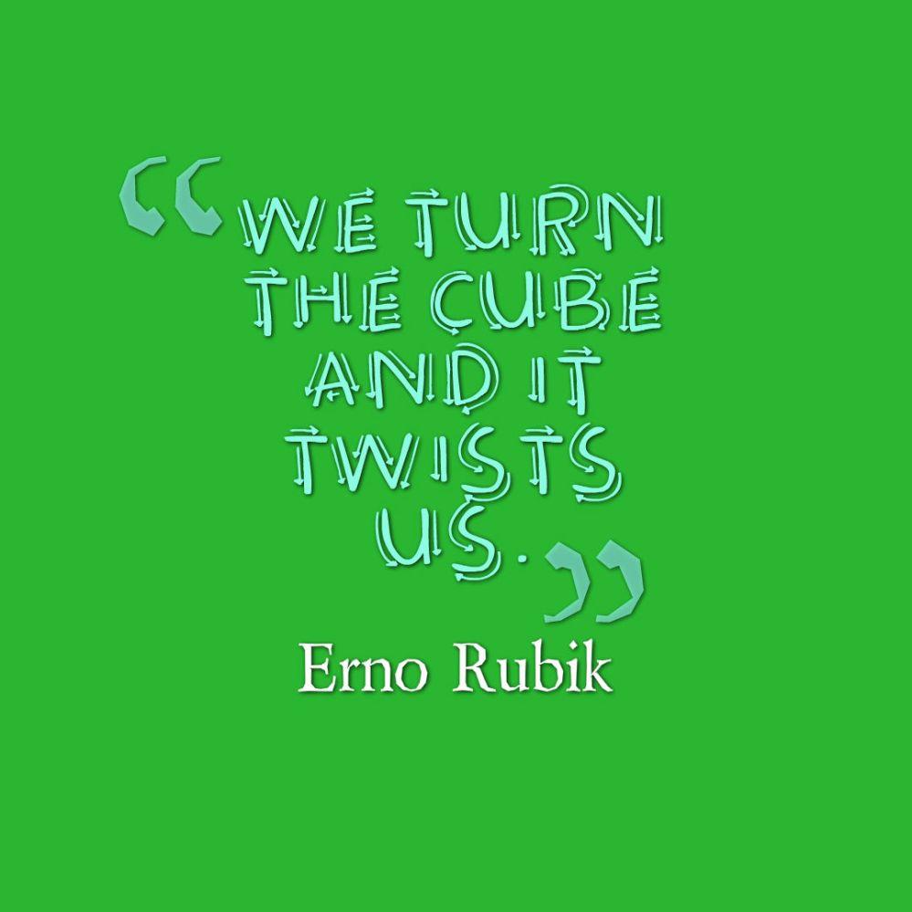rubik quote