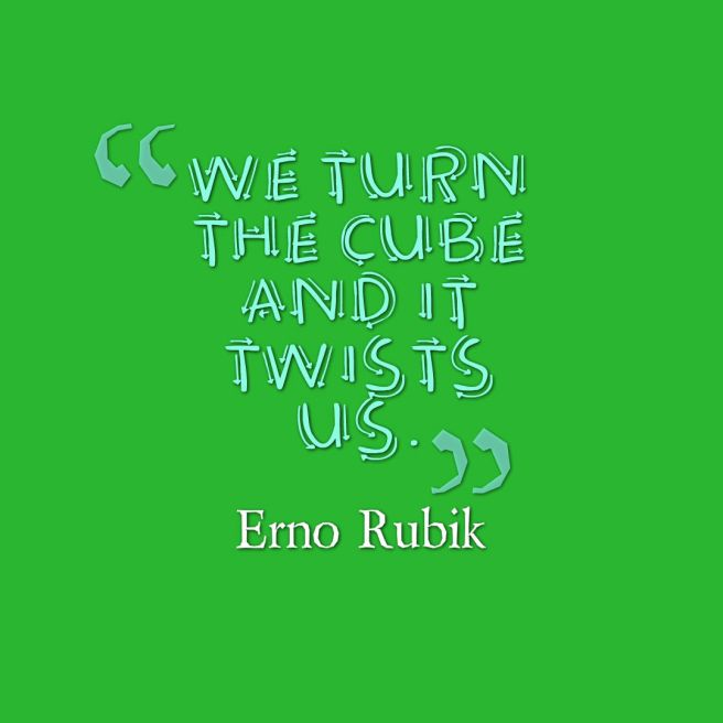 rubik quote