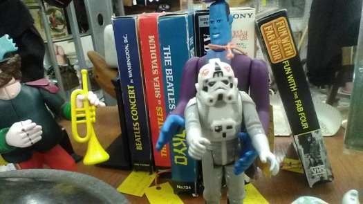 stormtrooper tie fighter pilot antique store