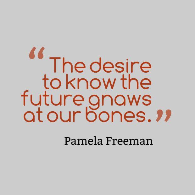 freeman quote fortunetelling