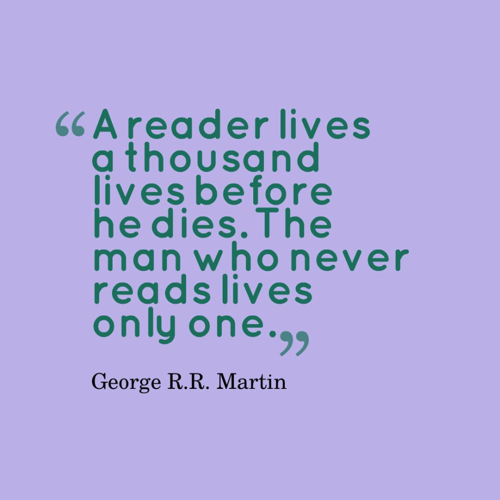 martin reading quote