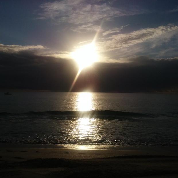 ocean sunset florida pompano