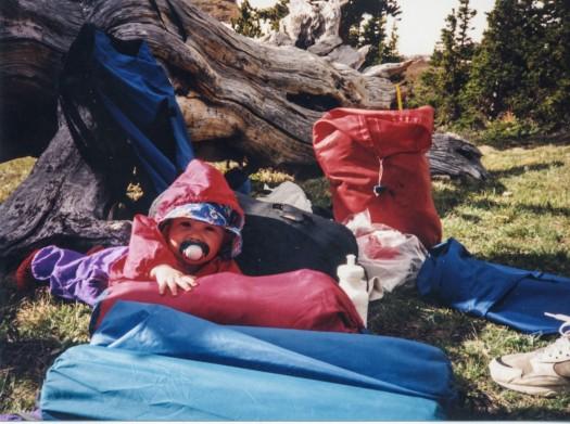 camping kids cute