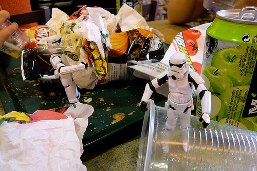 stormtrooper mess trash