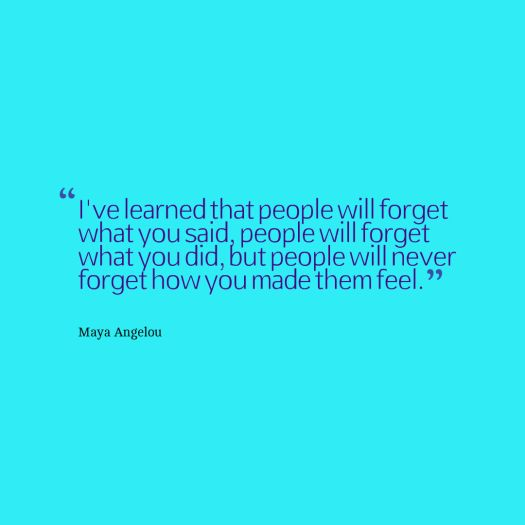 angelou quote learning