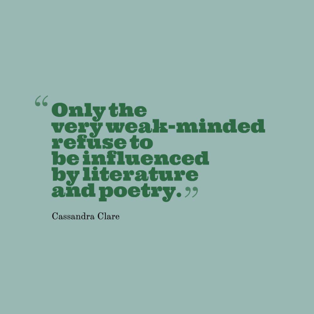 quote reading clare