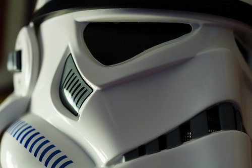stormtrooper face