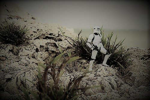 stormtrooper shore contemplative