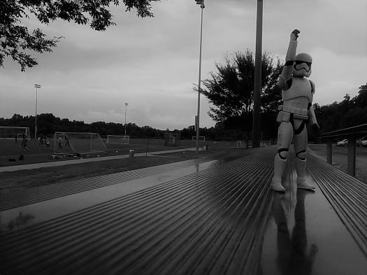 stormtrooper soccer bleachers