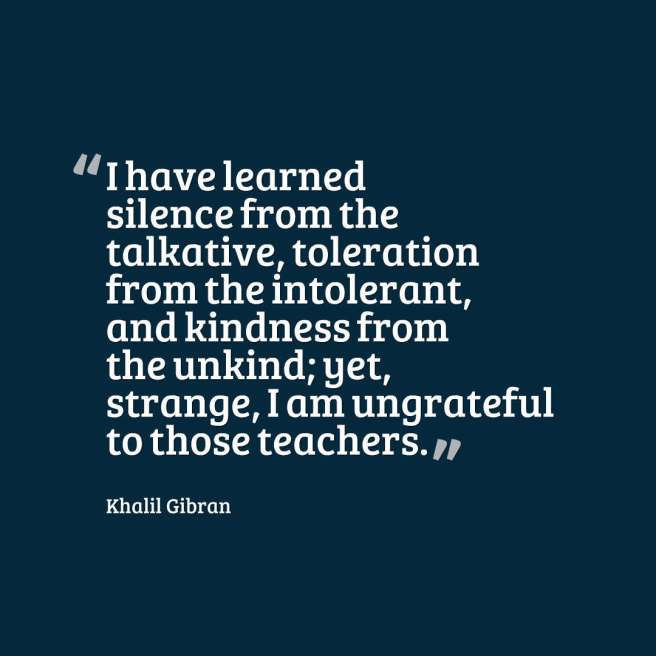 gibran quote kindness