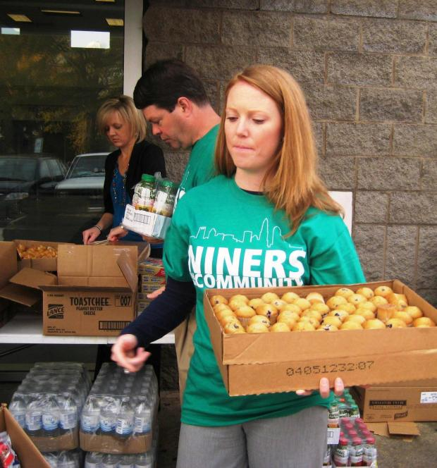 Joanna Niners in the Community