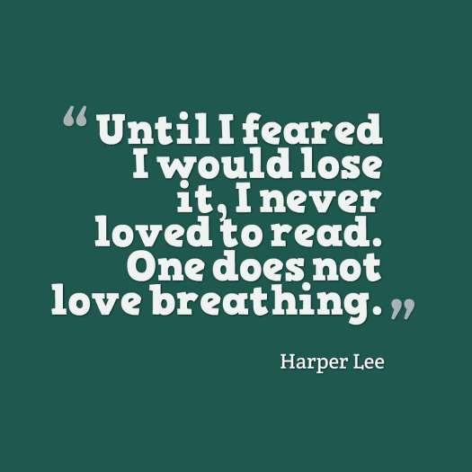 lee quote reading