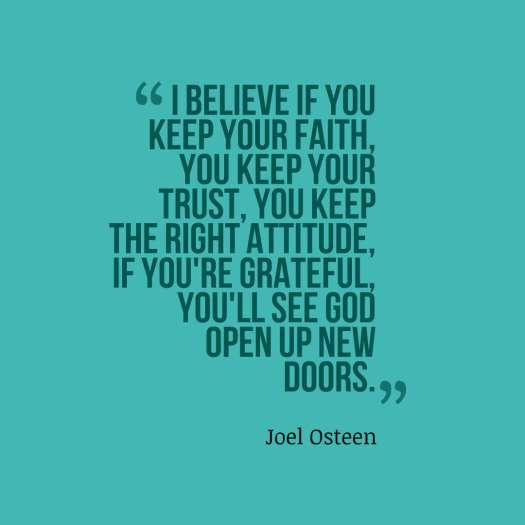 osteen quote believe