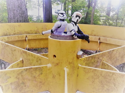 stormtrooper disc golf catcher