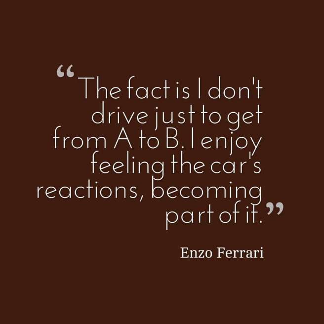 cars quote ferrari