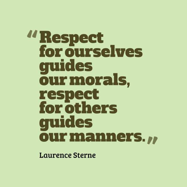 sterne quote respect