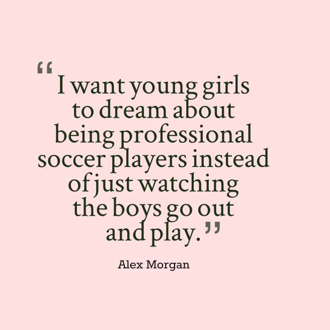 morgan quote soccer
