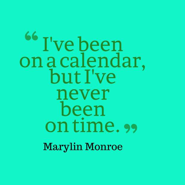 monroe quote calendar