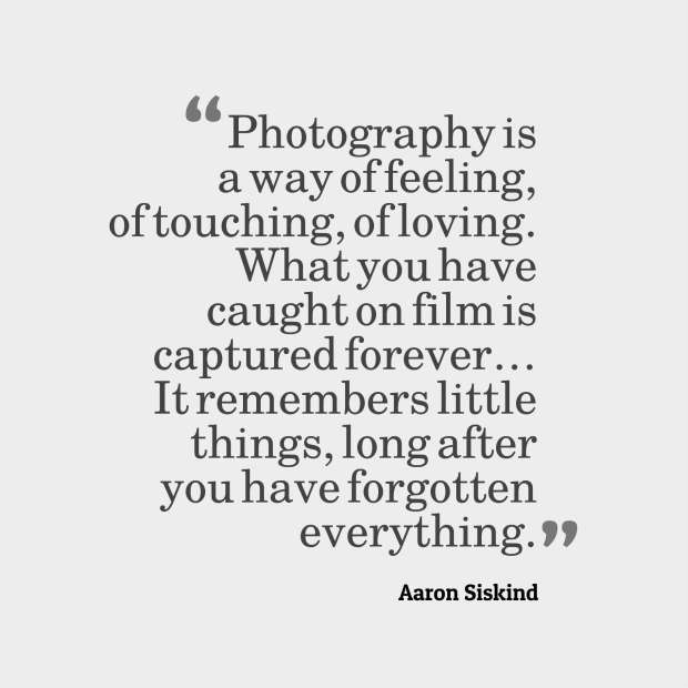 siskind quote photography